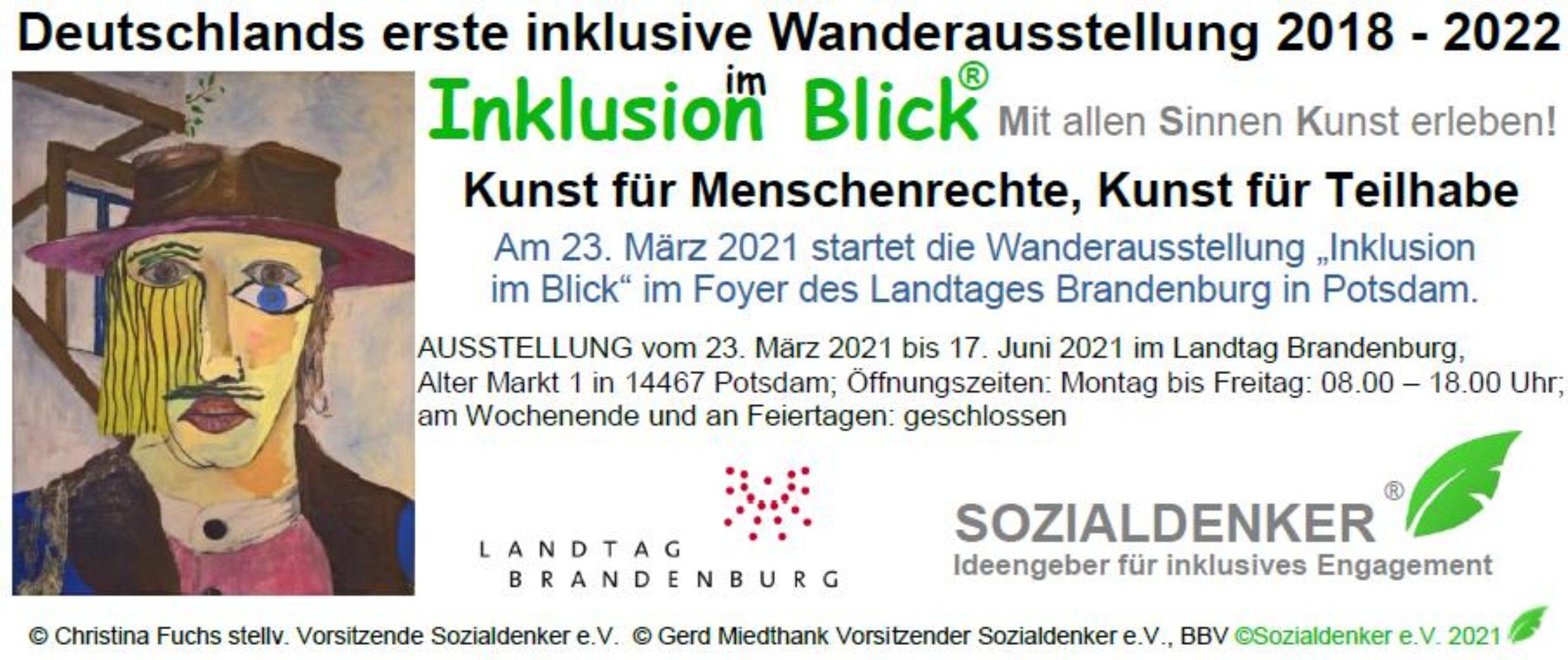 Deutschlands erste inklusive Wanderausstellung